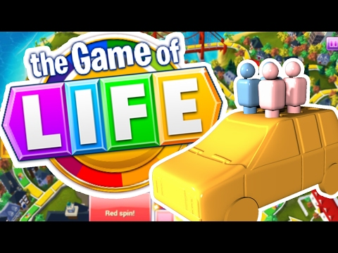 RICHEST MAN IN THE WORLD - THE GAME OF LIFE (Board Game) (видео)