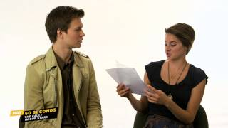 Video MAX 60 Seconds with The Fault in Our Star's Ansel Elgort (Cinemax) MP3, 3GP, MP4, WEBM, AVI, FLV April 2018
