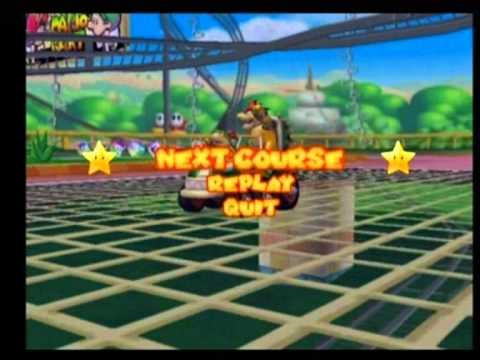Mario Kart Double Dash - Bowser & Bowser Jr. - Mushroom Cup 100cc