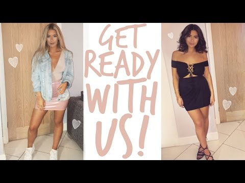 GET READY WITH US | NIGHT OUT | Sophia and Cinzia (видео)