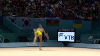 2013 Rhythmic Gymnastics World Championships - All-Around Finals - Group A Highlights