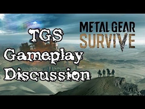 Metal Gear Survive Gameplay TGS 2016 Thoughts And Spectulations