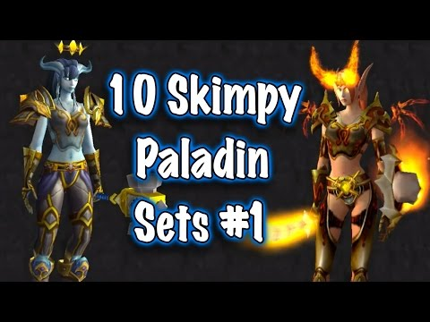 Jessiehealz - 10 Skimpy Paladin Sets #1 (World of Warcraft)