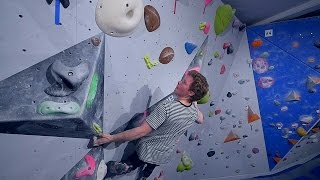 Nikken Is Back And Working On His Project This Bouldering Session! by Eric Karlsson Bouldering