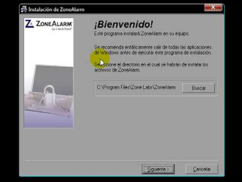 Video 1 de ZoneAlarm: Cómo instalar ZoneAlarm