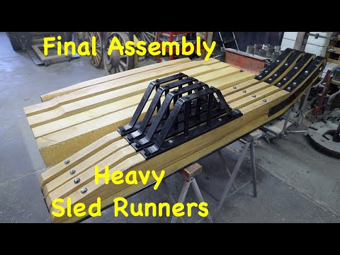 Final Assembly on Bob Sled Runners   Part 4   Engels Coach Shop