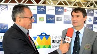 Prefeito Romero Rodrigues fala do evento da FCDL