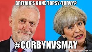 With Prime Minister May losing seats for the Tories with Corbyn gaining for Labour, one has to wonder why the UK is changing so rapidly? NHS, immigration, Br...