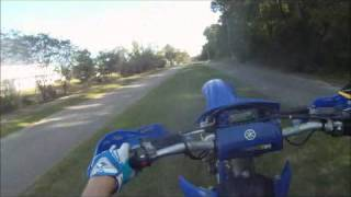 9. 2009 WR450 Wheelies!!!!!!