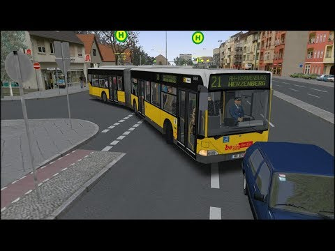 OMSI 2 - Ahlheim Line 21 - MB O.530 Citaro G ZF