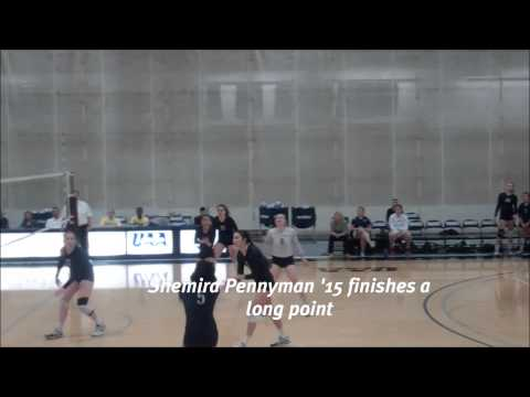 Volleyball vs. Lasell, 10/28