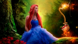 Photo manipulation Beauty in the forest (Fantasy effect) Photo...