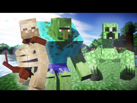 Minecraft MUTANT CREATURES MOD