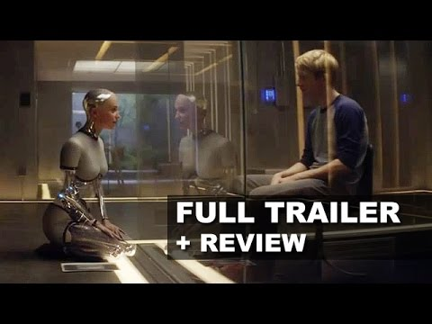 review trailer - Ex Machina debuts its official trailer for 2015 starring Domhnall Gleeson from Alex Garland! Watch it today with a trailer review! http://bit.ly/subscribeBTT Ex Machina debuts its official...