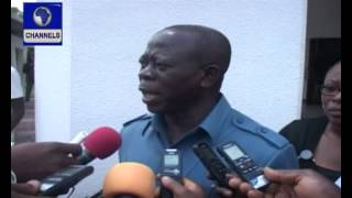 Oshiomhole In Near Fight With Minister At Presidential Villa