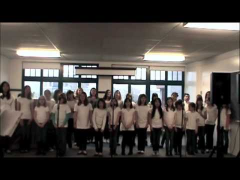 Shine Children's Chorus: Rehearsing I'm Yours/Somewhere Mashup
