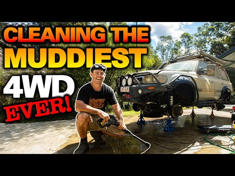 How Shauno cleans his 4WD after a 4WD24/7 trip! Car cleaning tips + up to 25% off Shauno's gear