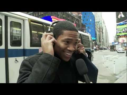 Parrot Zik Headphones Tested in New York City