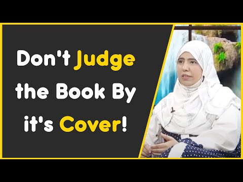 Don't judge the book by it's cover!