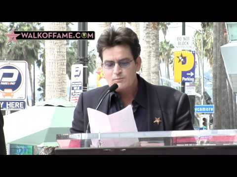 Chuck Lorre Walk of Fame Ceremony