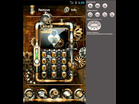 Video of ADW Theme Steampunk