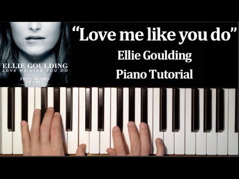 Ellie Goulding – Love Me Like You Do (How To Play Piano Tutorial)