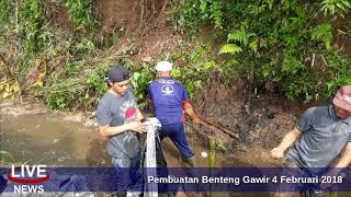Proses Pembuatan Benteng Gawir Fatihul Huda