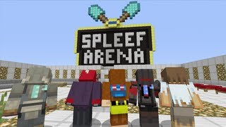 Minecraft (Xbox 360) - Spleef Battle w/Subscribers - 8 LAYERS