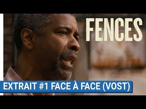"""FENCES - Extrait """"Face à face"""" - avec Denzel Washington et Viola Davis"""