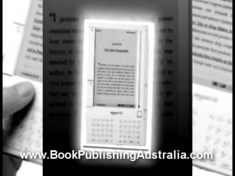 Book Publishing Australia learn how to become a published author on Kindle