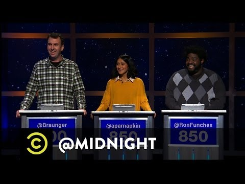 Matt Braunger, Aparna Nancherla and Ron Funches - OkCreepy  - @midnight