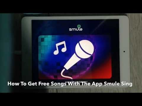 HOW TO GET FREE SONGS! (Smule Sing Karaoke App)
