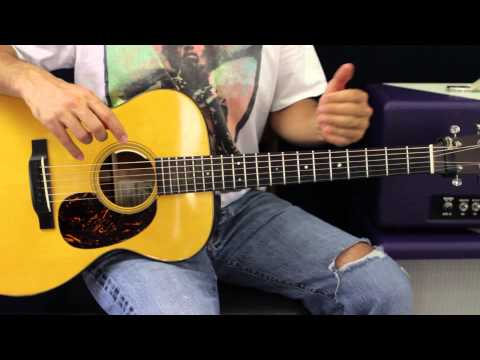 How To Play FloraBama Acoustic Guitar Lesson EASY Country Song