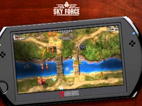 SKY FORCE by iDreams for PSN MINIS! COMING FOR SONY PSP & PS3 ON JANUARY 5TH 2011!