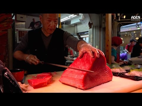 Sashimi - Street Food in Japan [08:07]
