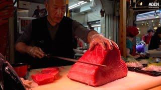 Sashimi - Street Food in Japan