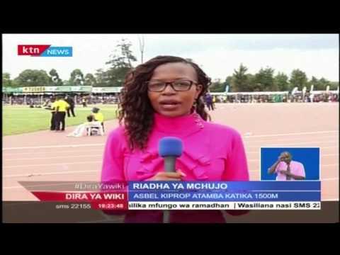 Vivian Cheruiyot na Asbel Kiprop waepuka washindi kwa mbio huko Eldoret