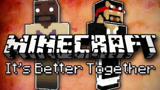 Minecraft: It's Better Together w/ Mark Part 4 - Fear of Peanut Butter