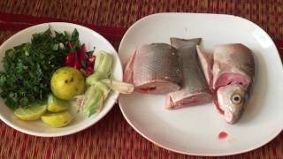 Cambodian Popular Food - Fish Soup With Lemon , Lemongrass, And Min - Healthy Family Food