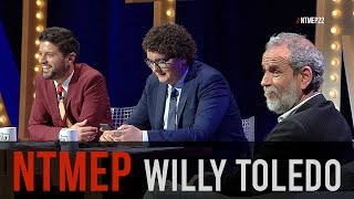Video Entrevista a Willy Toledo, el prófugo de la justicia #NTMEP MP3, 3GP, MP4, WEBM, AVI, FLV Mei 2018
