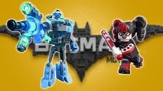 The LEGO Batman Movie Game - Mr. Freeze & Harley Quinn Boss Ba...