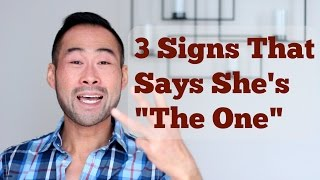 "Here are the 3 key signs to answer the question, ""Is she the one for you?"" If the woman in your life hits all 3, marry her already! And if not, keep looking..I mentor you towards a rewarding career and help you create a life you're proud of. My Website: http://www.101mentoring.com/My Products and Services:http://www.101mentoring.com/productsandservicesGrab a free copy of my ebook, The Unfair Advantage:http://www.101mentoring.com/ebook/unfairadvantageAsk me a question and I'll answer it in a future video:http://www.101mentoring.com/askyourquestionGentlemen, are you thinking of tying the knot this holiday season? Are you thinking of asking the girl in your life to be your partner for life? But how do you know truly know if she's the one for you? That she is to be the mother of your children and to carry your name? Funny thing - and the reality - is that many people don't really know! They just find themselves in a position to tie the knot, either out of convenience, comfort, timing or just the amount of time already invested in the relationship. These are HORRIBLE reasons to get married!One crucial factor that men forget is that they have the power to choose - to select for - their love of their life.  Of course, this only works if that man is a secure, independent and strong man who has his emotional 'stuff' together (and if you don't, you got some work to do!) but the point is you have the power to find that perfect woman for you.So if you have the power to choose the perfect woman, what traits or signs should you be looking out for? How can you tell that she's the one that you will marry?Well, in this video I talk about:- The mindset you must have before you even consider marriage- My personal dating situation before I considered settling down- The 3 key signs that you have to watch out for to answer the question, ""Is she the one for you?""- The two caveats to these rules"