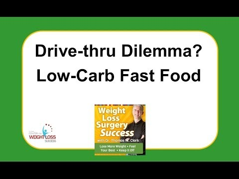 Weight Loss Surgery Success – Alternative Choices In Fast Food