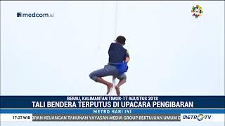 Video Momen Siswa Panjat Tiang Bendera Juga Terjadi di Berau MP3, 3GP, MP4, WEBM, AVI, FLV Maret 2019