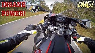 1. 2017 Honda CBR1000RR Test Ride + 6th Gear Wheelie
