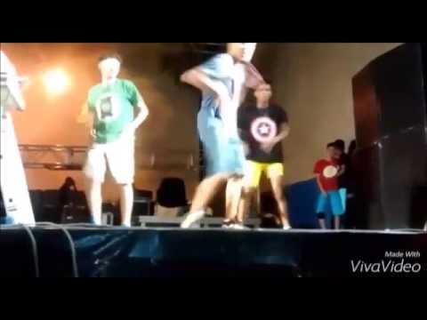 OS'BP se apresentando no Festival da Banana em São Geraldo da Piedade-MG