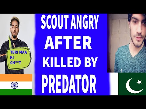 SCOUT ANGRY AFTER KILLED BY PREDATOR || SCRIMS SOUTH ASIA || PUBG MOBILE 2020