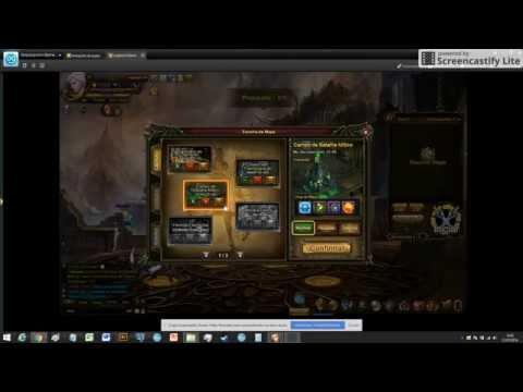explicando como usar o sistema global em portão do heroi - Legend Online
