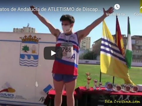 Entrega de Premios Campeonatos de Andalucía de Atletismo de Discapacitados Intelectuales Isla Cristina