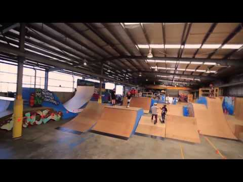 Laura Amelung Welcome to Grit Scooters and The Bunker Indoor Skatepark
